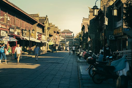 Xiangyang City, Old Town, Street