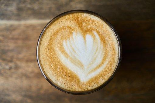 Latte, Coffee, Wood, Food, Espresso, Background