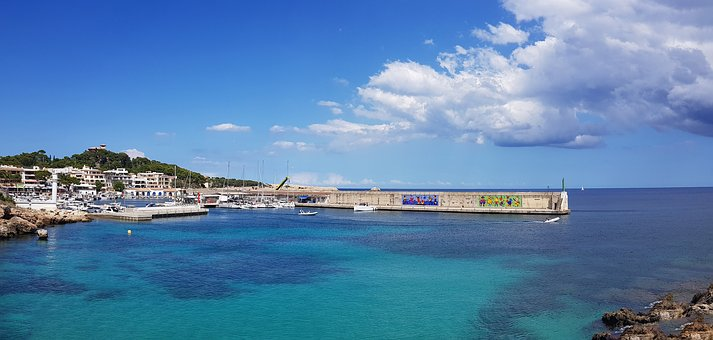 Mallorca, Port, Quay Wall, Balearic Islands Spain