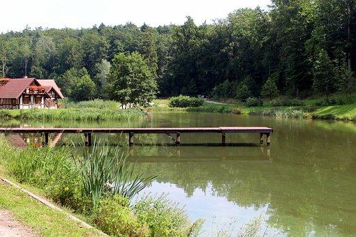 Nature, Landscape, Water, Bridge, Tourism, Summer, View