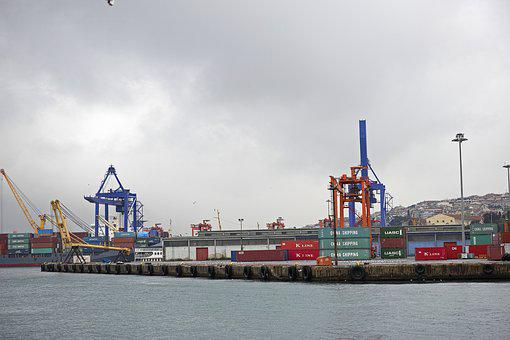Shipping, Port, Ship, Marine, Water, Container, Boat