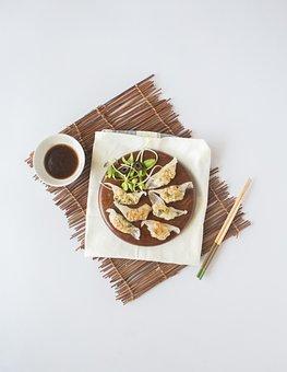 Asian, Dish, Dumpling, Cuisine, Meal, Food, Restaurant