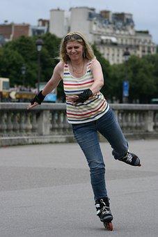 Inline, Skating, Rollerblading, Inline Skating, Sporty
