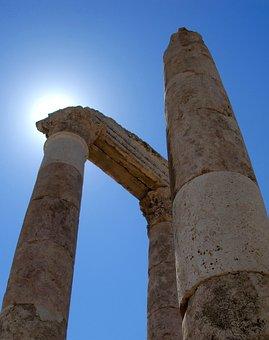 Jordan, Amman, Roman, Architecture, Tourism, Landmark