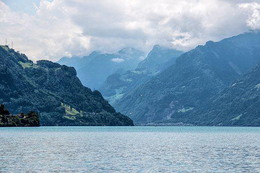 Lake Lucerne Region, Lake, Switzerland, Alpine