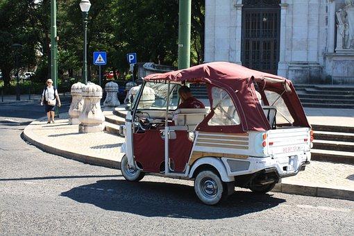 Lisbon, Truck, Vintage