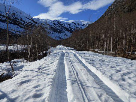 Road, Snow, Mountain, Winter, Cold, Nature, Landscape
