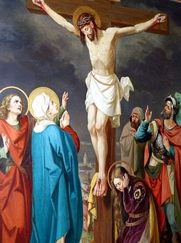 Way Of The Cross, Passion, Mourning, Christ, Jesus, Art
