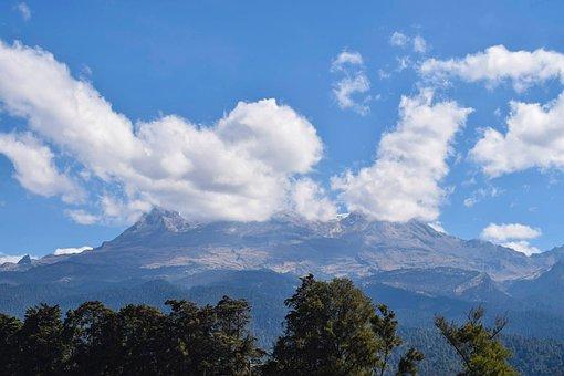 Mountain, Volcano, Nature, Landscape, Mexico