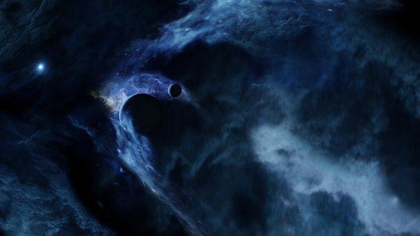 Space, Planets, Moon, Nebula, Cosmos, Sky, Galaxy