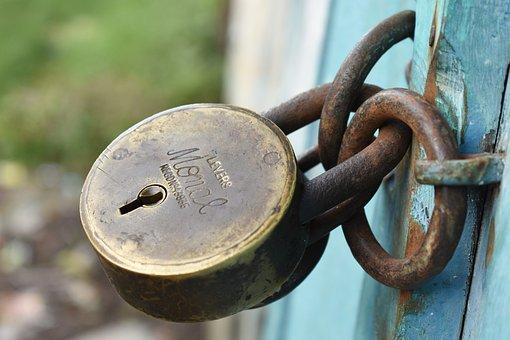 Old, Antique, Lock