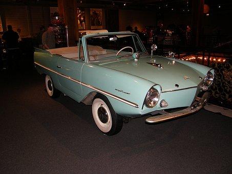 Antique, Car, Vintage, Old, Transport, Auto