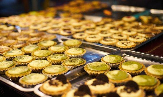 Sweet, Cake, Patisserie, Bakery, Close-up, Food, Macro