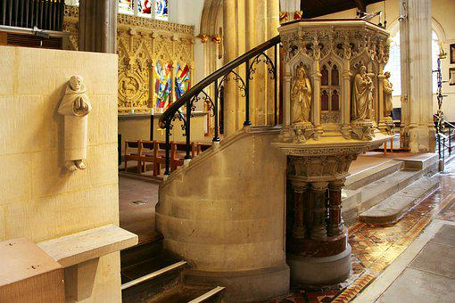 Pulpit, Church, Religion, Christian, Christianity