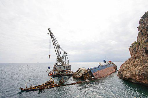 Ship, Accident, Sink, Rusty, Kennedy, Recovery