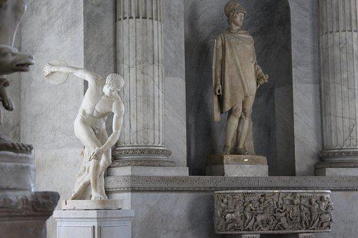 Rome, Vatican, Chapel, Statue, Marble, Italy, Museum