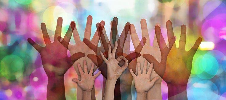 Volunteers, Hands, Voluntary, Help, Support, Assistance