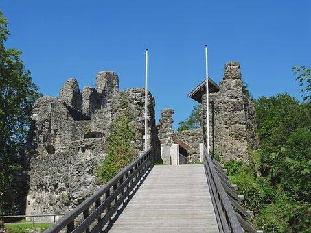 Alttrauchburg, Burgruine, Height Burg, Allgäu