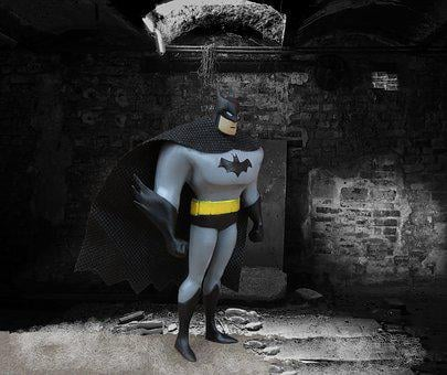 Batman, Superhero, Dark, Building, Hero, Spooky, Scary