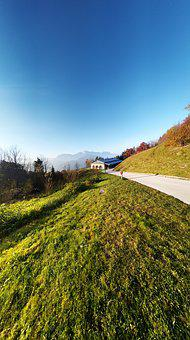 Mountains, Landscape, Berchtesgaden