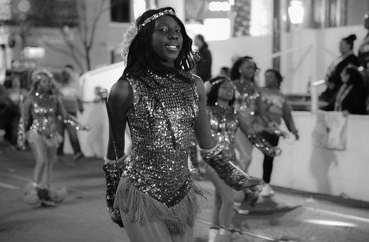 Teen, Black And White, Dance, Black, Young, Person