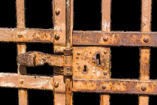 Castle, Goal, Input, Old Gate, Metal Gate, Iron Gate