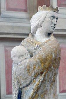 Madonna, Christ, Image, Statue, Maria, Jesus, Catholic