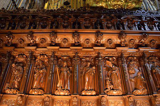 Church, Religious Figures, Arch, Religious, Figure