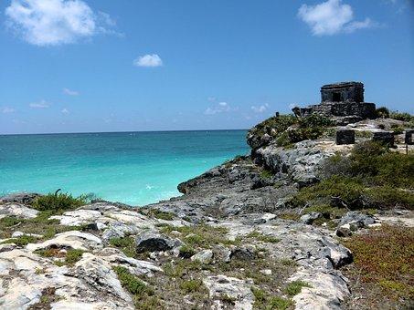 Tulum, Mexico, Mayan, Ancient, Yucatan, History, Travel