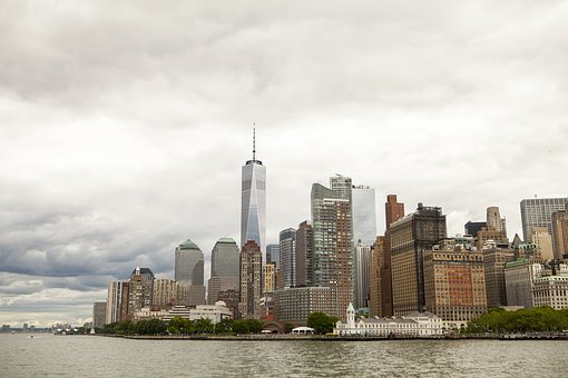 New York, Freedom Tower, Freedom, Hudson, City