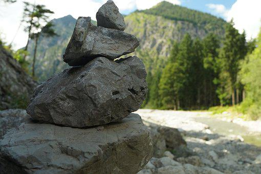 Cairn, Stones, Stone Tower, Stack, Stone Men, Cairns