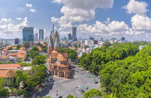 Asia, Basilica, Beauty, Cathedral, Church, Cityscape