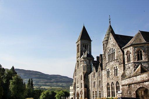 Scotland, Monastery, Church, Old, Historically, Tourism