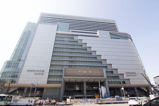 Osaka, Osaka Station, Station, Train, Subway
