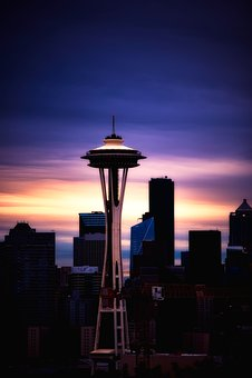 Seattle, Washington, City, Urban, Cityscape, Skyline