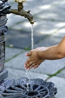 Wash Hands, The Purity Of The, Water, Faucet