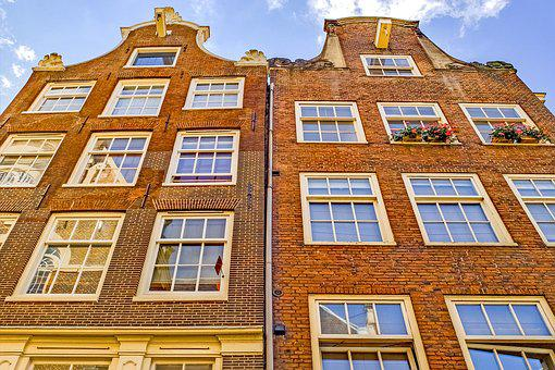 Home, House, Building, Facade, Brick, Architecture
