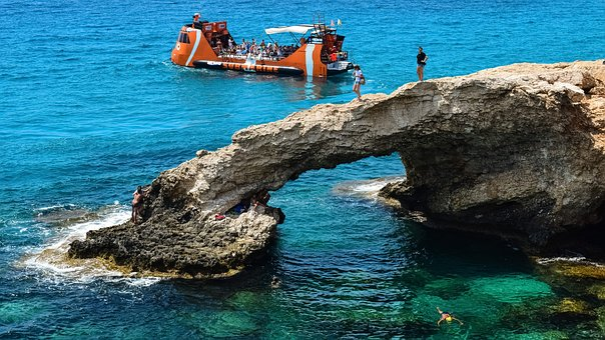 Cyprus, Ayia Napa, Tourism, Tourists, Sightseeing