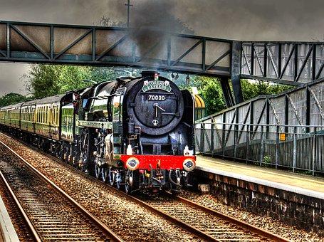 Train, Steam Machine, Steam, Locomotive, Retro, Engine