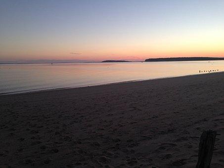 Sunset, Ocean, Colors, Sea, Water, Sky, Nature, Beach