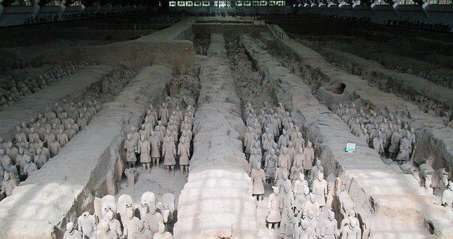 China, Xian, The Terracotta Army, Terracotta Army
