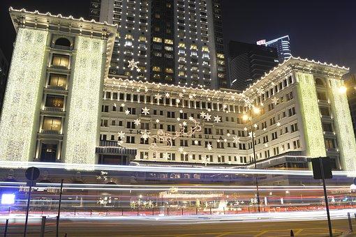 Hongkong, Bus, Hong, Kong, Asia, Travel, City, Urban
