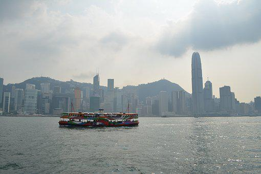 Hongkong, Ferry, Hong, Kong, Asia, Travel, City, Urban