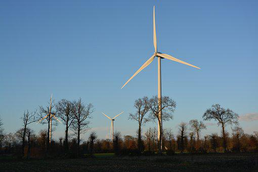 Wind Turbines, Site, Wind, Electricity, Electric Energy