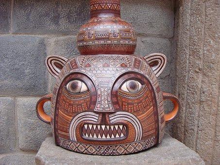 Art, Pot, Work Of Art, Peru