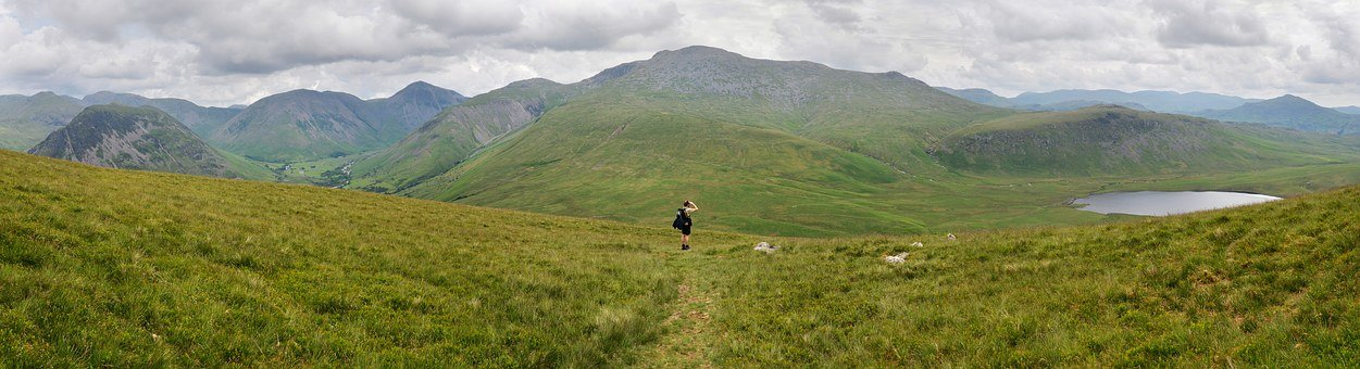 Scafell Pike, The Lake District, England, Britain