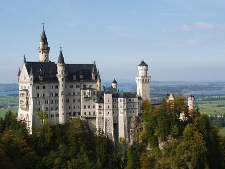 Neuschwanstein, Bavaria, Germany, Castle