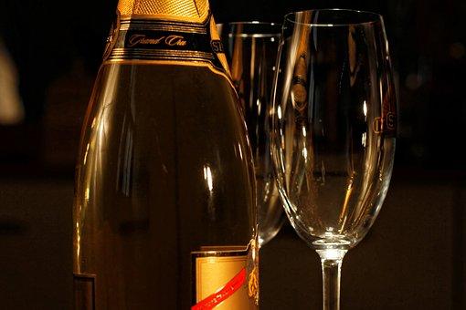 Champagne, Glass, Drink, Celebration, Alcohol, Party
