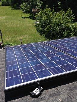 Solar Panel, Roof, Energy, Alternative, Power