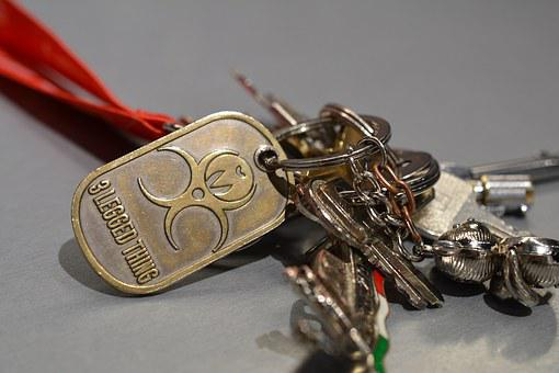 Key Ring, Keys, Bunch, Ring, Security, Lock, Unlock